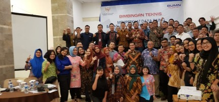 Partisipasi Dalam Bimbingan Teknis Keterbukaan Informasi Publik BUMN